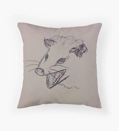 Possums Throw Pillow