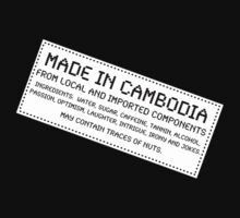 Traces of Nuts - Cambodia by Ron Marton