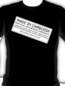 Traces of Nuts - Cambodia T-Shirt
