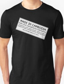 Traces of Nuts - Cambodia Unisex T-Shirt