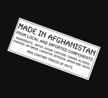 Traces of Nuts - Afghanistan by Ron Marton