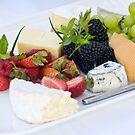 Fruit & Cheese Platter by Tracy Riddell