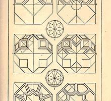 A Handbook Of Ornament With Three Hundred Plates Franz Sales Meyer 1896 0035 Geometrical Elements Octogon Subdivision by wetdryvac