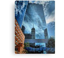 Mirrored Minneapolis Metal Print