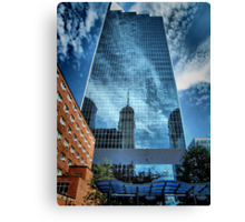 Mirrored Minneapolis Canvas Print