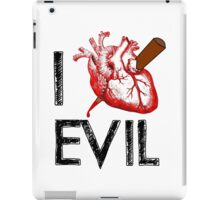I Love to Stake Evil! iPad Case/Skin