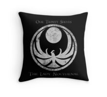 Skyrim - Agent of Nocturnal Throw Pillow