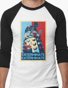 EXTERMINATE Hope Men's Baseball ¾ T-Shirt