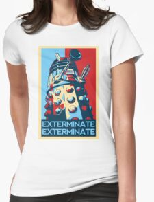 EXTERMINATE Hope Womens Fitted T-Shirt