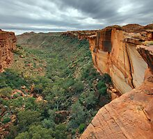 Kings Canyon, Northern Territory, Australia by Michael Boniwell