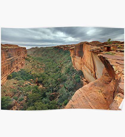 Kings Canyon, Northern Territory, Australia Poster
