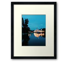 Steamboat Framed Print