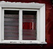Through the window by Rob Beckett