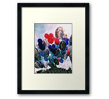 Magic Balloons Framed Print