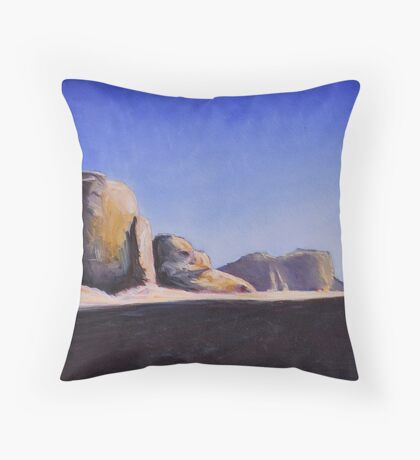 The Path of Lawrence Throw Pillow