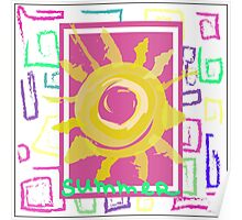 Summer graphic print Poster