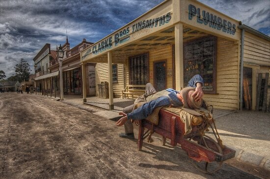 Sovereign Hill by Dene Wessling