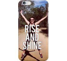 Rise and Shine - Lea Michele iPhone Case/Skin
