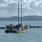 Ocean going Waka - New Zealand........! by Roy  Massicks