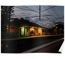 Collingwood Train Station Poster