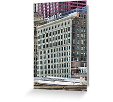 Santa Fe Building, Chicago, Daniel Burnham Greeting Card