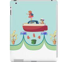 Little Fishy In The Sea iPad Case/Skin