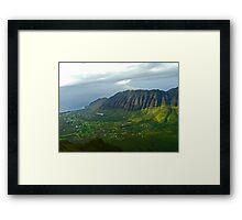 Kamaileunu Ridge Framed Print