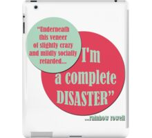 Complete Disaster. iPad Case/Skin