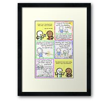 antics #87 - precious memories Framed Print