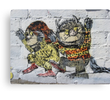 Where the Wild Things Are! Canvas Print