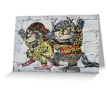 Where the Wild Things Are! Greeting Card