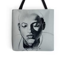 Shadow Girl Tote Bag