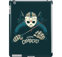 Welcome Campers! iPad Case/Skin