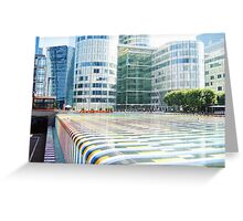 Colours, lines and stripes. Greeting Card