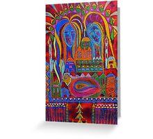 pushkar dreaming Greeting Card
