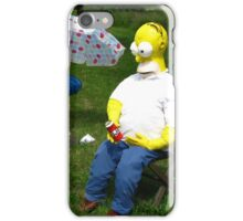 Marge and Homer Simpson iPhone Case/Skin