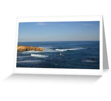 Ocean Tiltshift Greeting Card