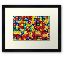 Lots O' Dots Framed Print