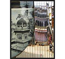 glass reflection bundi Photographic Print