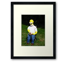"""D'oh! Fetch Me Another Beer Marge "" Framed Print"