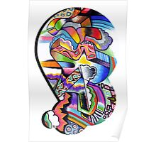 Abstract Bubble S 3 Poster