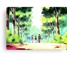 Ash and Friends! Canvas Print