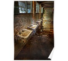 Cockatoo Island Basins - colour Poster