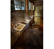 Cockatoo Island Basins - colour Photographic Print