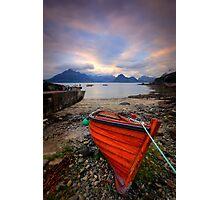 Elgol Boat... Photographic Print