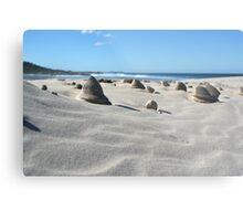 Sand sculptures Metal Print