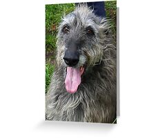 Hector...Gentle Giant. Greeting Card