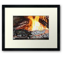 """""""Red Hot Croc"""" Framed Print"""