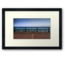 Brighton Sea Front - England Framed Print