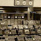 Old NASA Control Room by Dawn Barberis-Viczai
